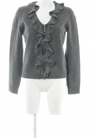 Bogner Langarm-Bluse grau Street-Fashion-Look