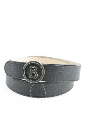Bogner Leather Belt black simple style