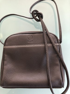 Bogner Gekruiste tas zwart bruin