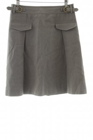 Bogner Linen Skirt light grey casual look
