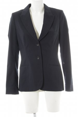 Bogner Long-Blazer dunkelblau Business-Look