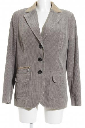 Bogner Long-Blazer grau-beige Business-Look