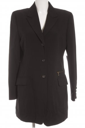Bogner Long-Blazer schwarz Business-Look