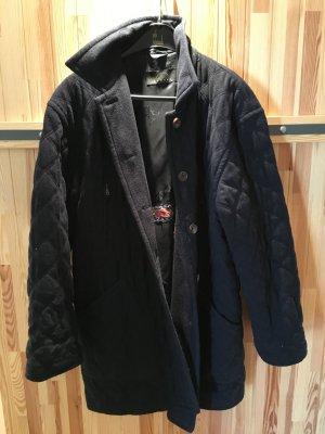 Bogner Mantel dunkelblau mit abgesteppten Nähten