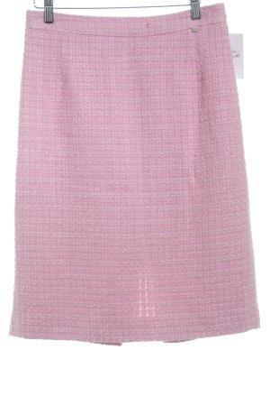 Bogner Midirock rosa-rosé Lochstrickmuster Elegant