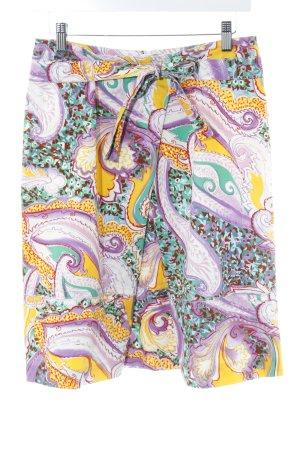 Bogner Minirock florales Muster extravaganter Stil