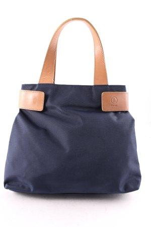 Bogner Mini sac cognac-bleu foncé style classique