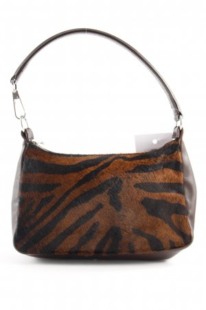 Bogner Mini Bag dark brown-brown animal pattern animal print