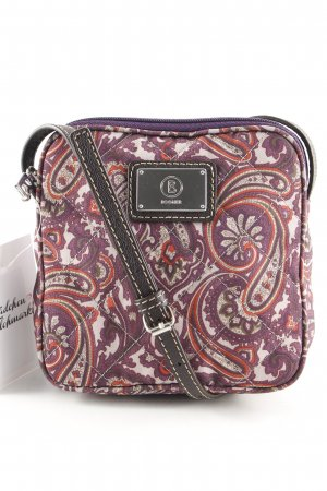 Bogner Minitasje lila-room abstract patroon casual uitstraling
