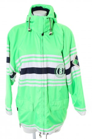 Bogner Outdoor Jacket striped pattern athletic style