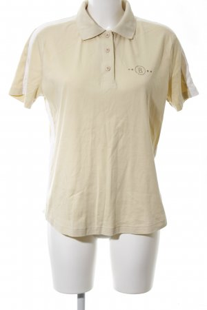 Bogner Polo-Shirt creme Casual-Look