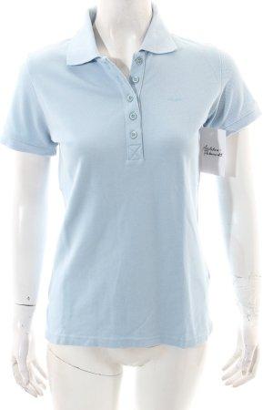 Bogner Polo-Shirt hellblau klassischer Stil