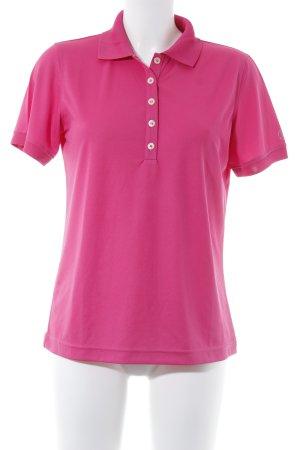 Bogner Polo-Shirt magenta Casual-Look