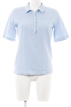 Bogner Polo blu neon stile casual