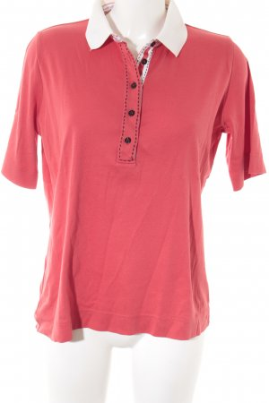 Bogner Polo-Shirt rot Casual-Look