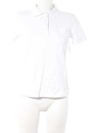 Bogner Polo-Shirt weiß sportlicher Stil