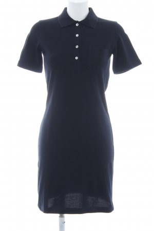 Bogner Polo Dress dark blue casual look