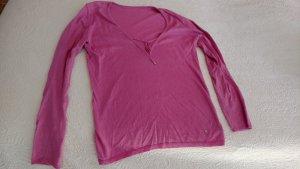 Bogner Pullover pink Gr 38 Baumwolle und Kaschmir