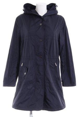 Bogner Manteau de pluie bleu foncé style décontracté