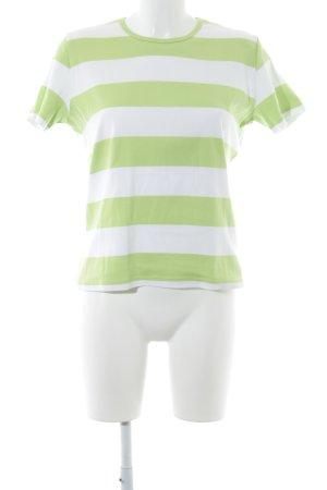 Bogner Ringelshirt wiesengrün-weiß Ringelmuster Casual-Look