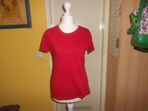 Bogner- rotes Basic T-Shirt Gr. S