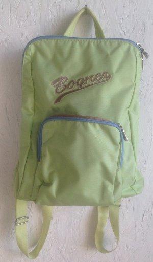 Bogner Mochila escolar verde pálido-verde claro Fibra sintética