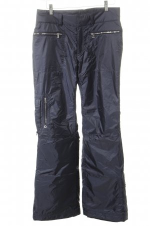 Bogner Snow Pants dark blue-silver-colored masculine look