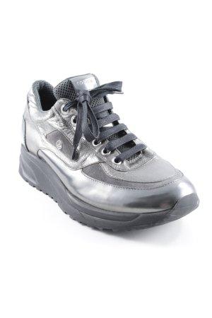 Bogner Sneakers met veters zwart-antraciet casual uitstraling