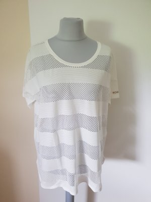 Bogner Shirt weiß  mit Netzeinlagen Gr. 44/46 Neu mit Etikett