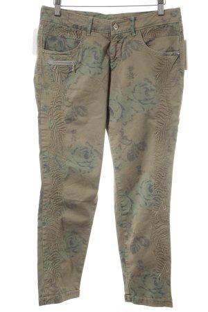 Bogner Slim Jeans florales Muster Casual-Look