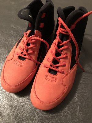 Bogner Sneakers baksteenrood-zwart Leer