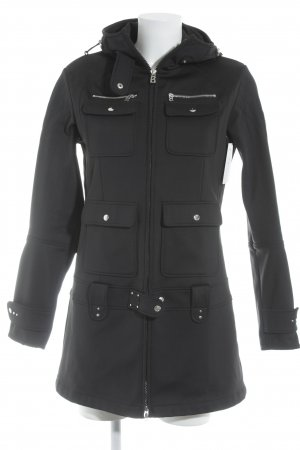 Bogner Softshell Jacket black biker look