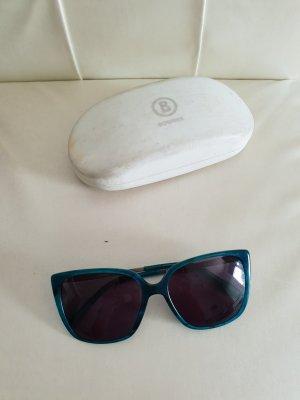 Bogner Angular Shaped Sunglasses turquoise-petrol