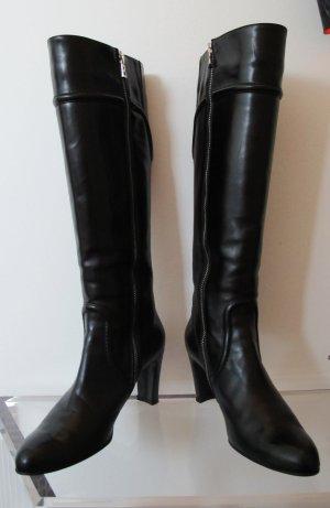 Bogner Stiefel Leder schwarz Größe 39