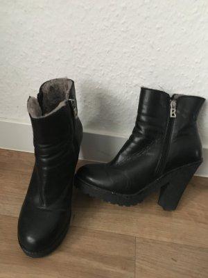 Bogner Stiefeletten schwarz