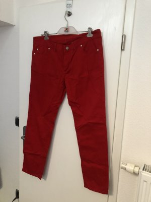 Bogner Pantalon chinos rouge brique