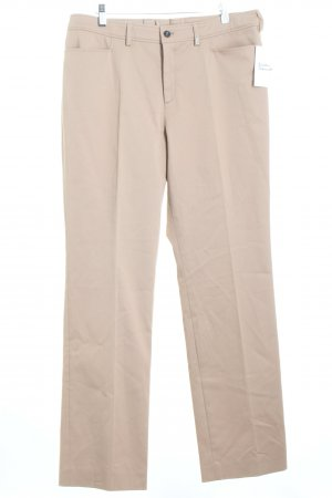 Bogner Stoffhose camel Business-Look