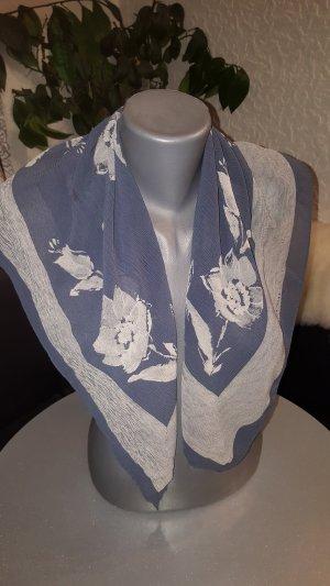 Bogner Écharpe en soie gris clair-bleu pâle