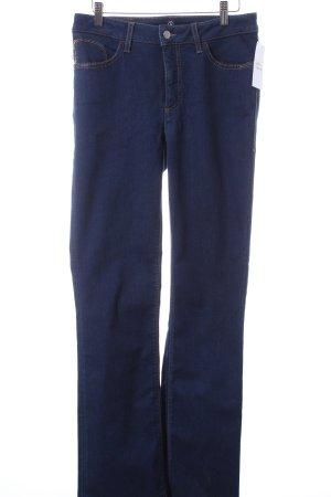 Bogner Straight-Leg Jeans blau Casual-Look