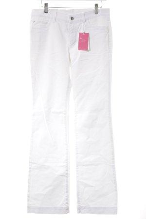 Bogner Jeans met rechte pijpen wit casual uitstraling