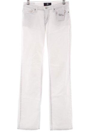Bogner Straight-Leg Jeans weiß klassischer Stil