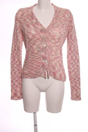 Bogner Cardigan pink flecked casual look