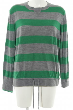 Bogner Knitted Sweater light grey-green flecked casual look