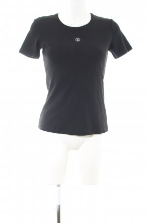 Bogner T-Shirt schwarz Business-Look