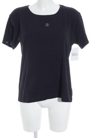 Bogner T-Shirt dunkelblau Casual-Look