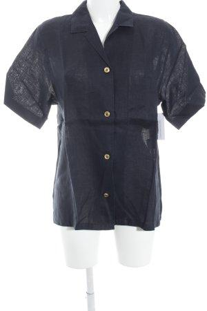 Bogner T-Shirt dunkelblau schlichter Stil