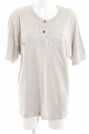 Bogner T-Shirt wollweiß Allover-Druck Casual-Look