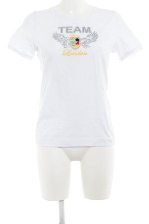 Bogner T-Shirt platzierter Druck Casual-Look