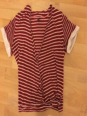 Bogner, T-Shirt rot-weiß gestreift