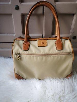 Bogner Tasche Original Leder Stoff Beige